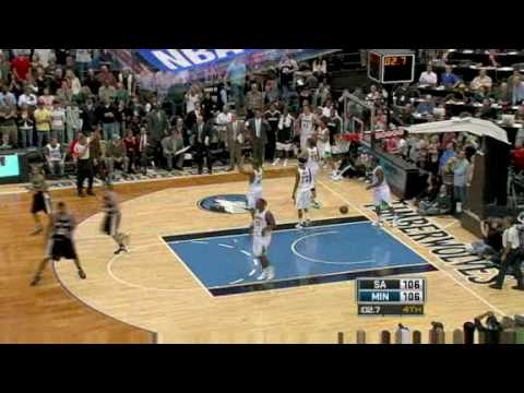 NBA Season 08/09 - Sa Antonio Spurs @ Minnesota Timberwolves