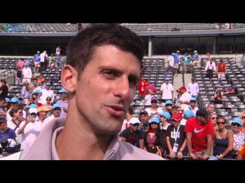 Djokovic Talks About 2014 Miami Title Win Over Nadal