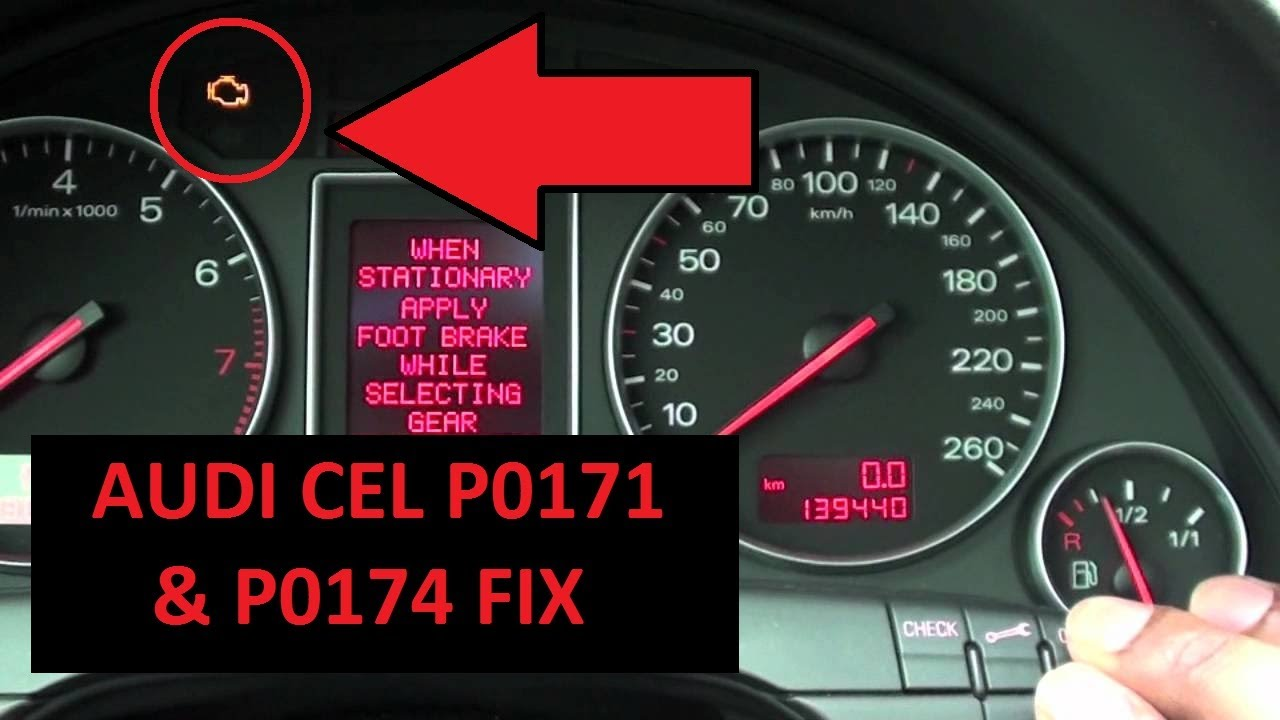 Audi B6 A4 Check Engine Light P0171 & P0174 Solution FIX (2001-2006)