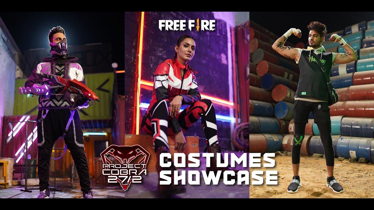 Cobra Costumes Showcase | Project Cobra 27.02 | Free Fire Pakistan Official