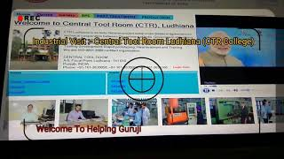Vlogs || My Industrial Visit || Machanical Machines || Central Tool Room Ldh || Machines Working ||