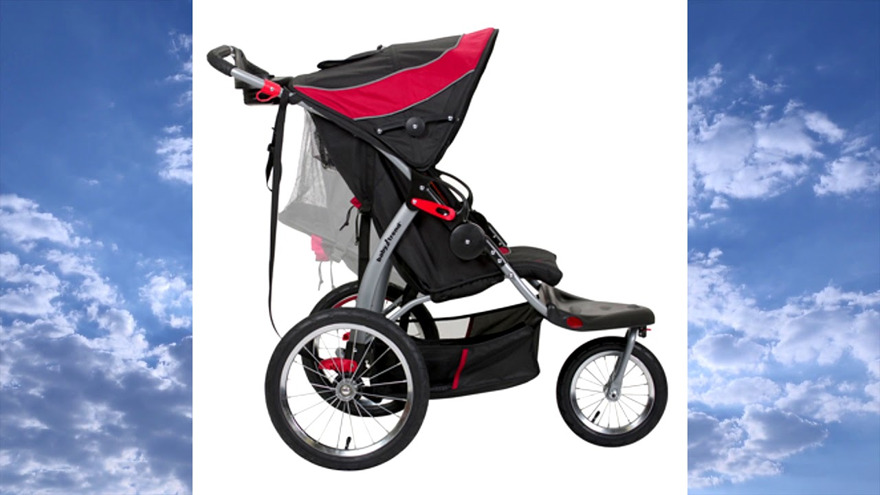 Double Jogger Stroller Baby Trend Expedition Double
