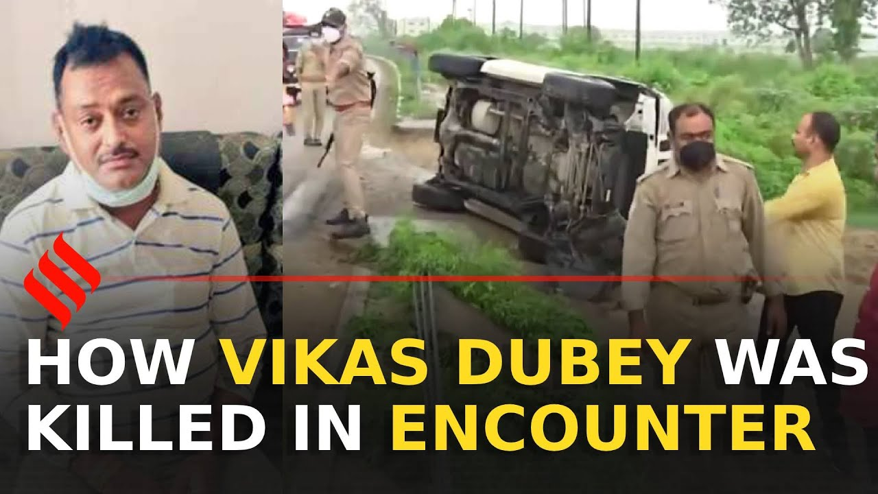 Download Vikas Dubey killed in police encounter by UP STF while trying to flee   Vikas Dubey Encounter