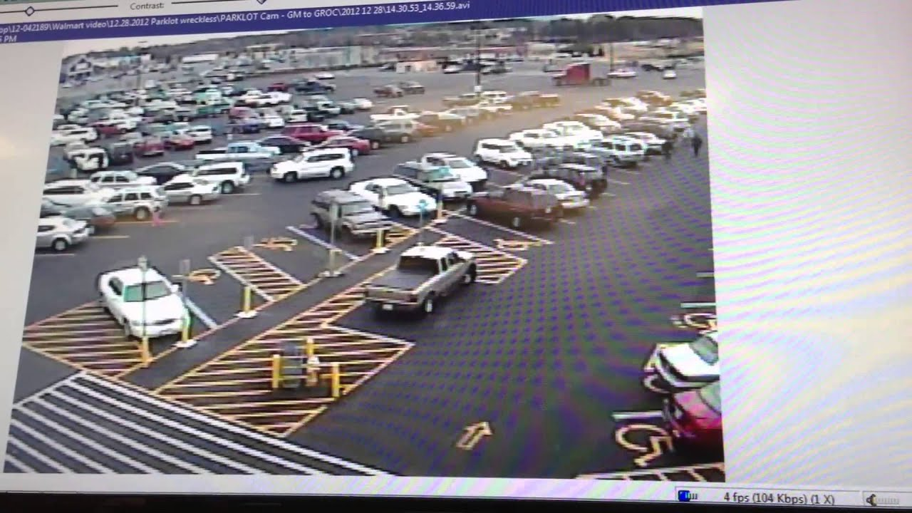 Walmart Security Footage - HD with Audio Commentary - YouTube
