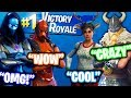CARRYING THE FUNNIEST SQUAD ON FORTNITE & WINNING THE GAME WITH A TRICKSHOT!!
