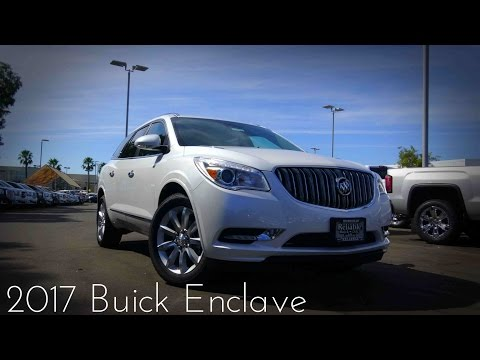 2017 Buick Enclave Premium Road Test & Review 3.6 L V6