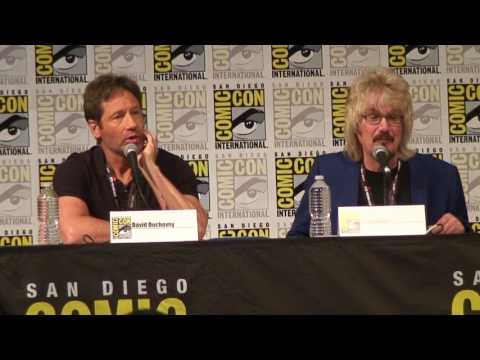 SDCC 2017 : X-Files : A Conversation Between David Duchovny and Dirk Maggs