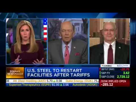 U.S. Steel Calls Back 500 Workers Because of Trump's Steel Tariffs