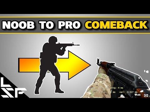 NOOB TO PRO COMEBACK #1 - Improve Movement & Aiming
