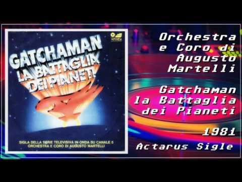 Gatchaman la Battaglia dei Pianeti (sigla italiana) 1981