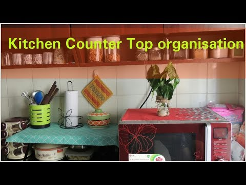 Repeat Small Indian Kitchen Countertop Organization Idea Tips For