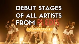 ALL PLEDIS ARTISTS DEBUT STAGES
