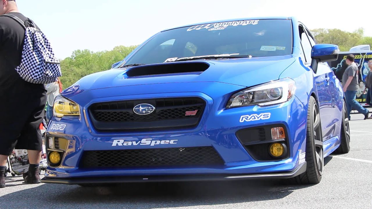 Stanced 2015 Subaru Wrx Sti Launch Edition Youtube