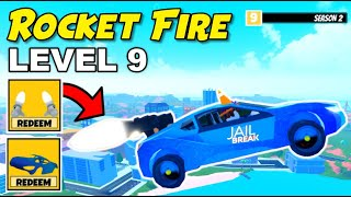 How GOOD Is LEVEL 9 EXCLUSIVE Reward? ANIMATED ROCKET THRUSTERS in Jailbreak Season 2 Dogs (Roblox)