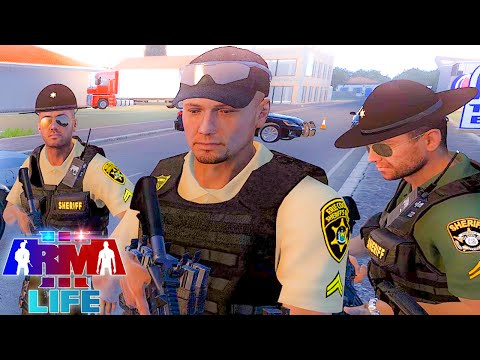 Arma 3 Life Police Live #16 - Riding with State Police