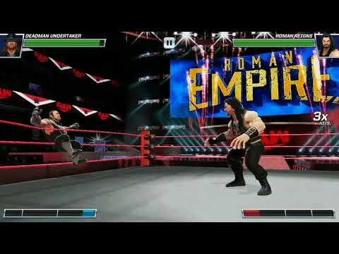 Undertaker vs Roman Reigns   WWE Mayhem