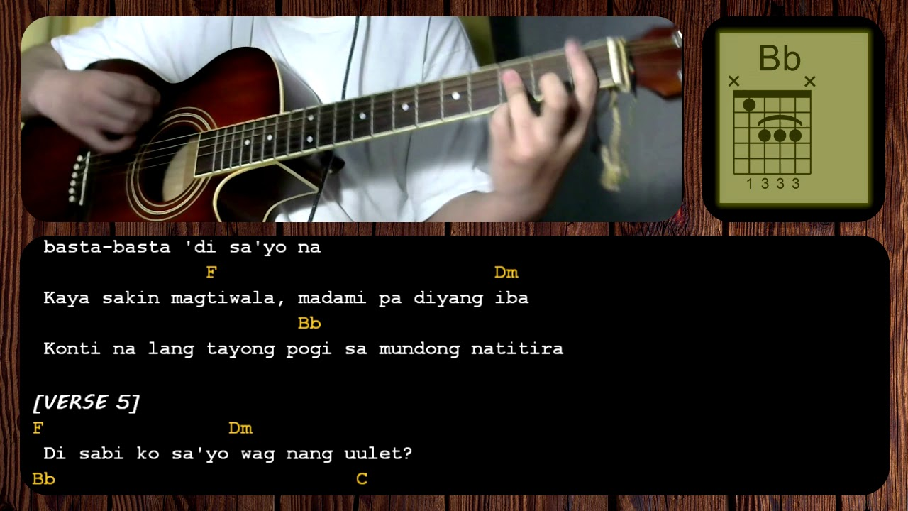 Hayaan Mo Sila By Ex Battalion Guitar Chords Tutorial Acoustic