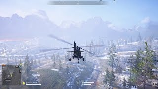 Battlefield V - Firestorm - Helicopter Gameplay PS4 (1080p60fps)
