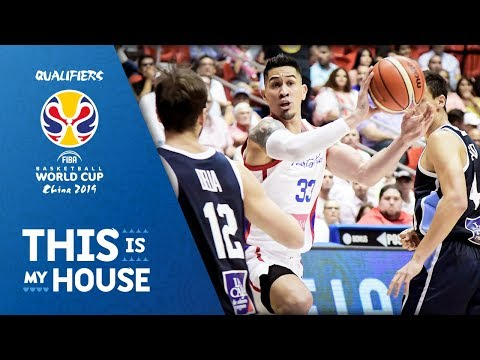 Puerto Rico vs. Argentina - Americas Qualifiers - Feb 22 - 6 Window - FIBA Basketball World Cup 2019