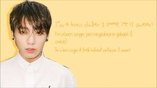 BTS (방탄소년단) - Born Singer Lyrics [ENG/ROM/HAN/COLOR CODED]
