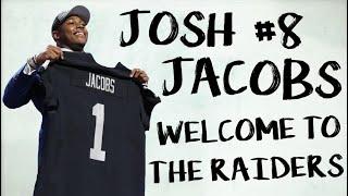 Josh Jacobs || Welcome To The Raiders || Alabama Career Highlights