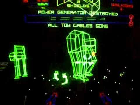 Empire Strikes Back multigame kit atari vector game - YouTube