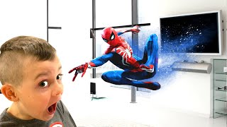 Timko and Superhero become best friends | Spiderman rescue mission
