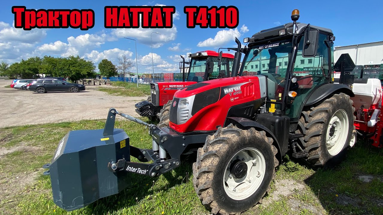 Трактор HATTAT T4110