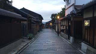 【iPhone SE & Smooth-Q】京都早朝散歩 八坂神社~寧々の道~清水寺 Kyoto Kiyomizu