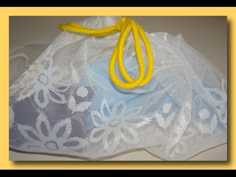 ЛАЙФХАК ! Мешок для стирки мелких вещей, своими руками! Как стирать? Экономим!