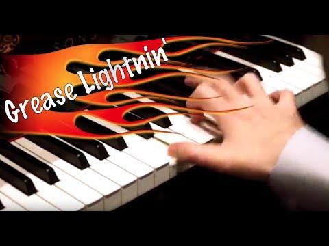Grease - Greased Lightnin&39; - John Travolta  -  Piano Cover