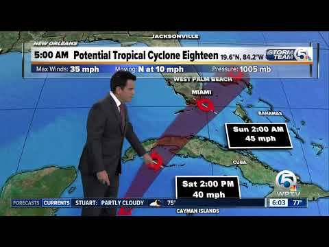 Update on Potential Tropical Cyclone 18