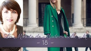 La Minute de Mademoiselle M 18 - Quand s'habiller en vert ?