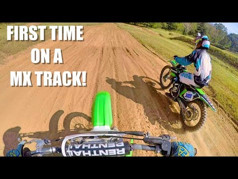 First Time On A Motocross Track! (Wheeler MX)