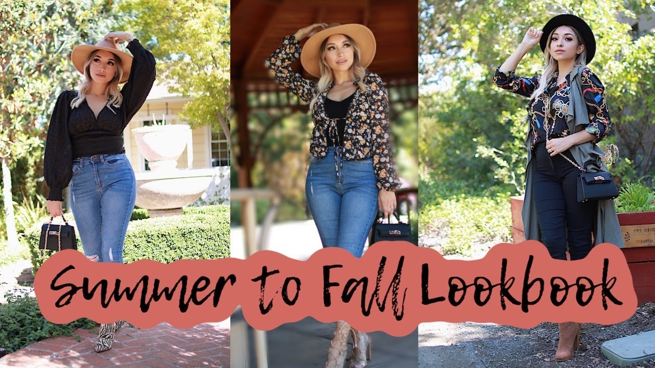[VIDEO] - #FALL LOOKBOOK 2019| How to style Fall outfits 4