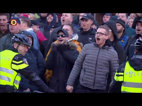 Demonstratie bij de intocht van Sinterklaas in Eindhoven liep uit de hand
