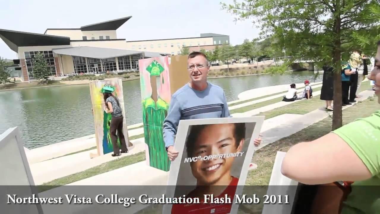 Northwest vista college graduation flash mob4 youtube northwest vista college graduation flash mob4 sciox Choice Image