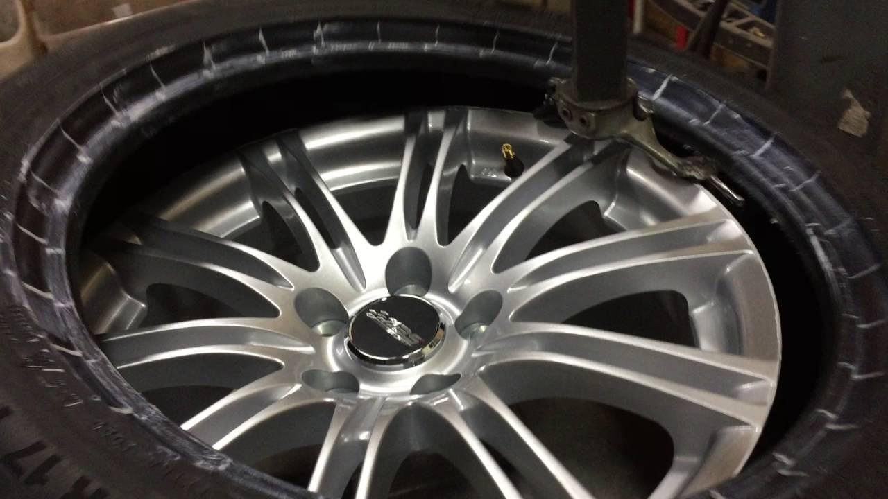 montering av däck