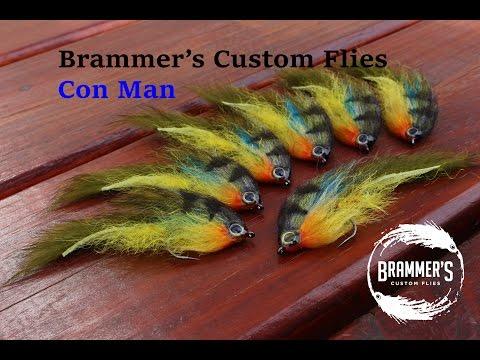 Fly Tying: Brammer's Con Man - Bluegill Imitation