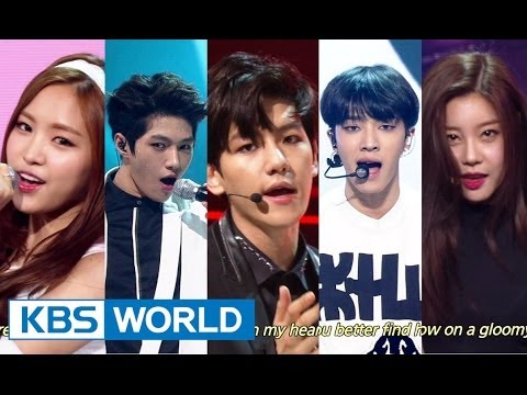 Music Bank with Eng Lyrics   뮤직뱅크 (2014.07.13)