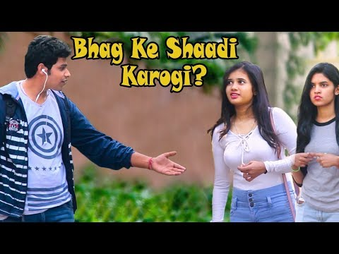 """Bhag Ke Shadi Karogi? "" Prank on Cute Girls | #Thrustustrolls E03 | Pranks In India"