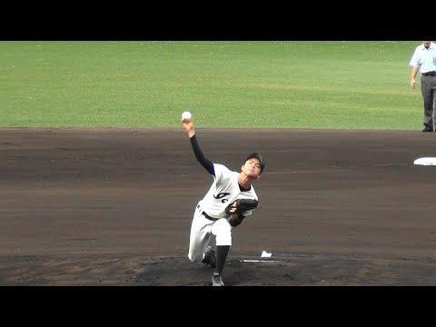 2018/9/16 桜井vs一条 1回表 桜井[1-0]