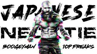 Boogeyman's Execution of the Japanese Necktie in MMA | Richie Martinez