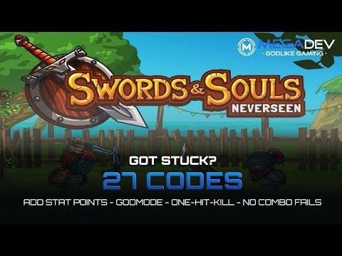 SWORDS & SOULS - NEVERSEEN Cheats: Add Stat-Points, Godmode, OHK, ... | Trainer by MegaDev | Hướng dẫn hack thú vị 1