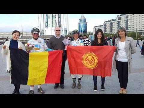 Belgique - Kazakhstan en tandem solaire