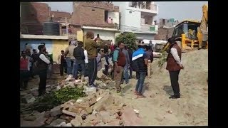 Under construction wall collapses in Noida school, two children dead
