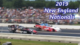 2019 NHRA New England Nationals Top Fuel Funny Car Eliminations Walking In The Pits