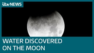 NASA reveals water has been found on the sunlit side of the moon   ITV News