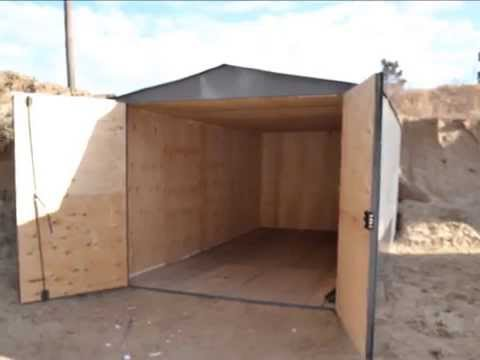металлический гараж 18 м2