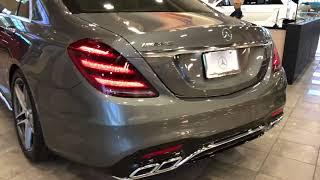 Mercedes-Benz AMG S63 Startup